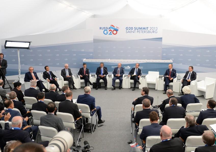 G20-bijeenkomst in St. Petersburg