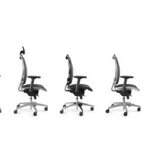 Luxy bureaustoelen
